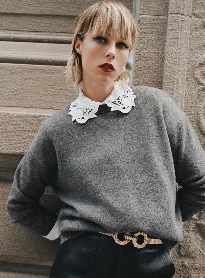 Look Zara Néo bourgeoise