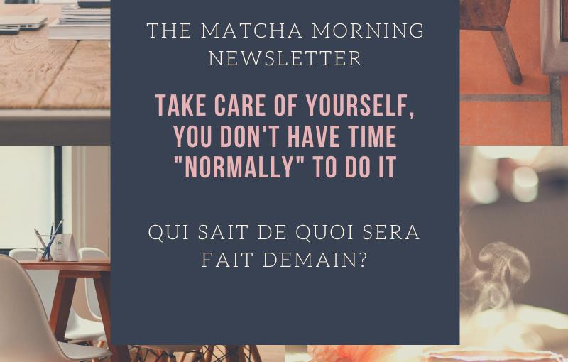 The Matcha Morning: Je plie 🧘🏻♀️ au gré duvent